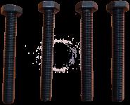 4 Zylinderkopfschrauben Auto-Union DKW F4, F5, F7, F8, F89. IFA F8, P70