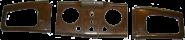 Armaturenbrett IFA F8 3-teilig