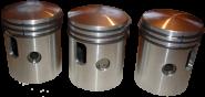 Kolbensatz komplett Auto-Union DKW F91, F93, F94 AU 1000, S, SP