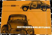 Betriebsanleitung DKW Auto-Union AU1000S