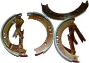 Bremsbackensatz DKW IFA F5, F7, F8 vorne oder hinten