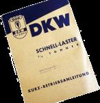 Kurz-Betriebsanleitung Auto-Union DKW Schnellaster