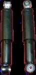 Satz Stoßdämpfer = 2 Stück Stoßdämpfer hinten Auto-Union DKW F89, F91, F93, AU1000/S/SP