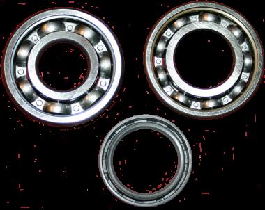 Radlagersatz + Wwllendichtring hinten F5, F7, F8, DKW und IFA