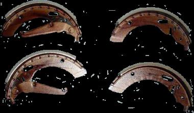 Bremsbackensatz Auto-Union DKW Junior, F11, F12 vorne oder hinten