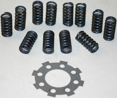 12 Federn Kupplung Sicherungsblech Auto-Union DKW F4 F5, F7, F8, IFA F8