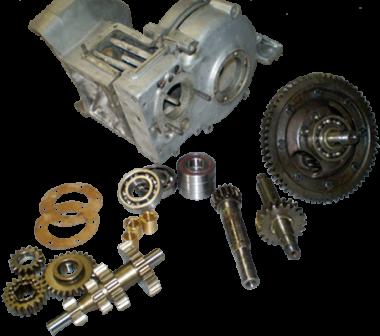 Getriebe trocken, DKW F5, F7, F8, IFA F8, P70