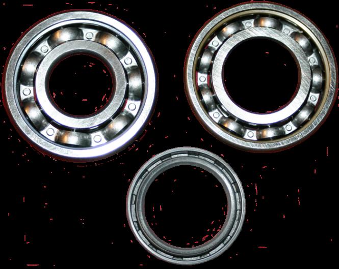 Radlagersatz inkl. Wellendichtring vorne DKW F8, IFA F8 und P70