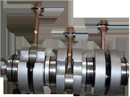 Kurbelwelle für Auto-Union DKW Junior, F11, F12, F91, F93, F94, AU 1000/S/SP, Munga