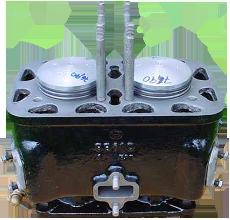 geschliffener Zylinder DKW F5, F7, F8, IFA F8 700 ccm