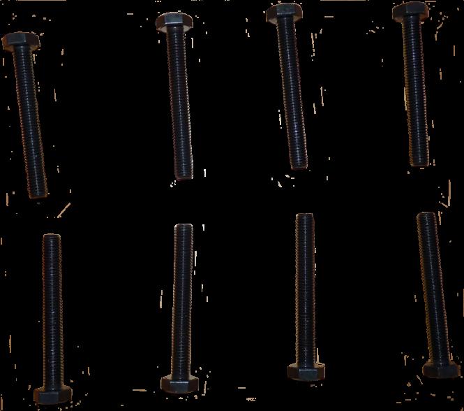 8 Zylinderkopfschrauben Auto-Union DKW F91, F93, AU 1000, S, SP, Junior, F11, F12