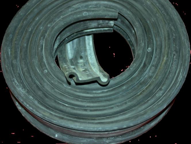 Gummiprofil für Motorhaubenauflage unterhalb der Frontscheibe DKW F5, F7, IFA F8