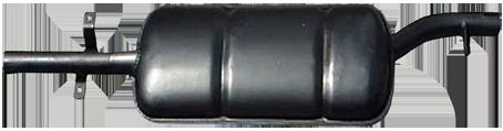 Nachschalldämpfer Auspuff DKW AU1000 SP