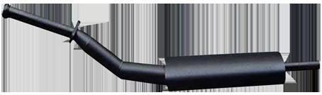 Vorschalldämpfer Auspuff DKW F91