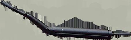 Vorschalldämpfer Auspuff DkW F93, F94, AU1000/S/SP
